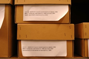 Modern archive boxes