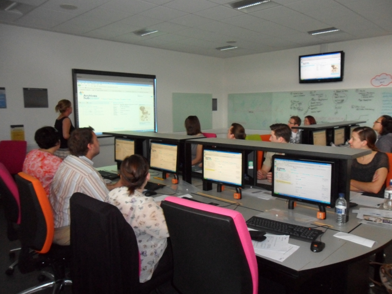 IT Training room at the University of Manchester