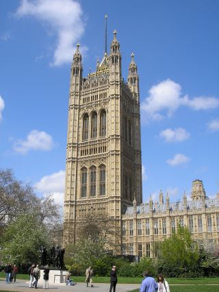 The Victoria Tower, home to the Parliamentary Archives