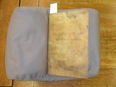 Nineteenth century commitee minute book
