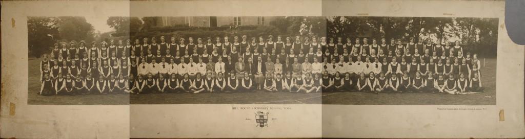 Mill Mount School photograph 1927