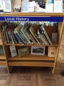 All branch libraries have a local history section - Have you spotted it at your local library?