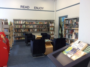 New Earswick Library...comfy seats and a great learning space!