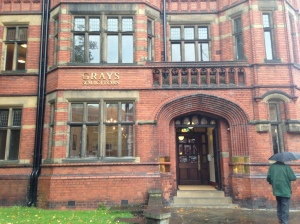 Gray's Solicitors. The firm moved to this premises on Duncombe Place in 1897.