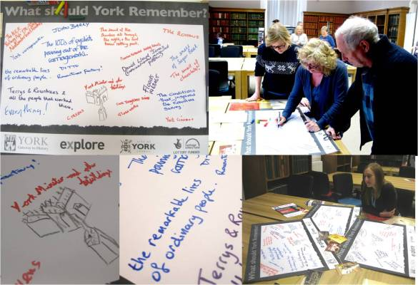 Examples from our activity at Residents Weekend 2015