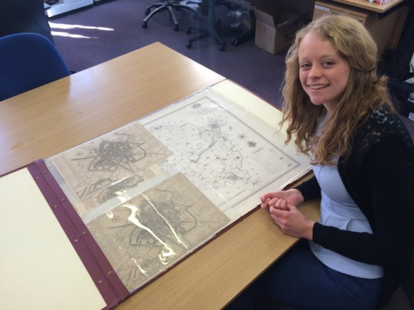 Just some of the extraordinary maps help at York Explore