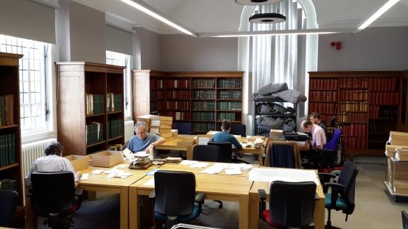 Our volunteers hard at work!