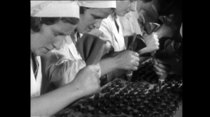 The Yorkshire Film Archive also has film relating to Rowntrees.