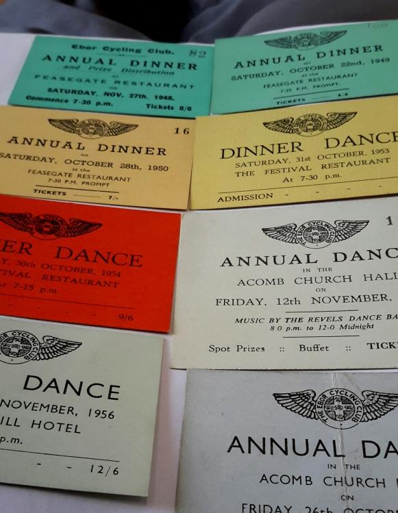 Annual dinner dance tickets- what fun! (ECC/6/4)