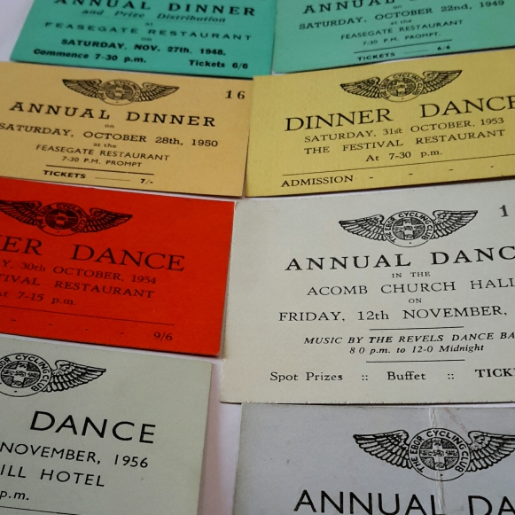 Annual dinner dance tickets- what fun! (ECC/6/4)
