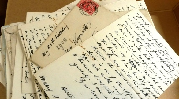 Letters from Frith to his sister, based in York