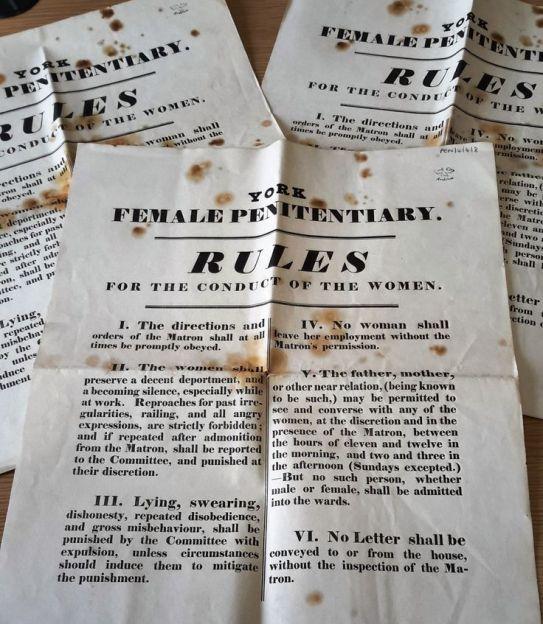 York Penitentiary Society Rules (PEN)