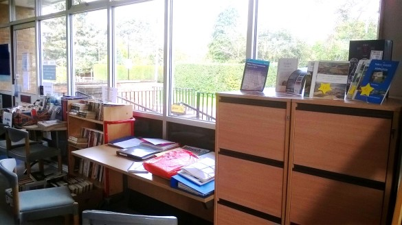 The PHS archive in Poppleton Library- open for public access!