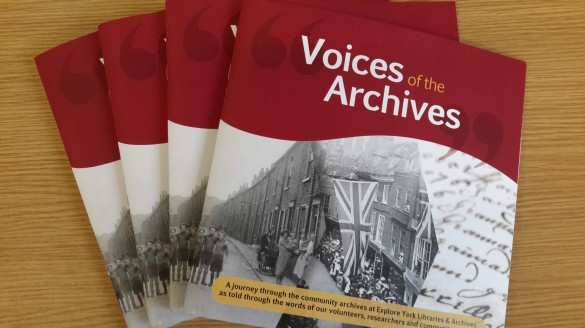 The final Voices of the Archives booklets!