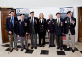 The Veterans together at York Explore for the celebration event