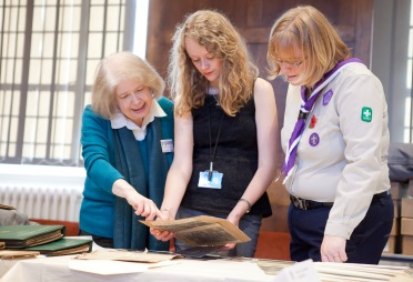 Enjoying the Scouts Open Archive Weekend