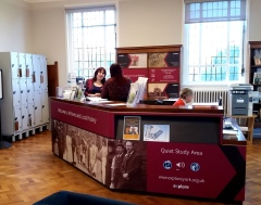 Our new improved Local History desk
