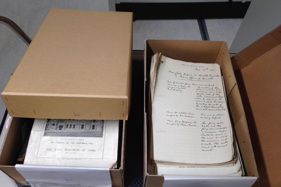 Archive volunteers needed!
